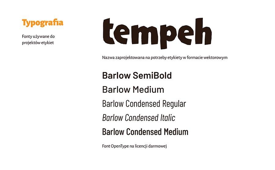 Księga znaku—typografia