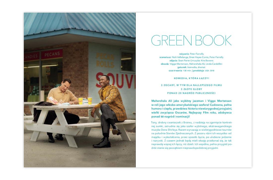 Green Book—wydanie książkowe DVD
