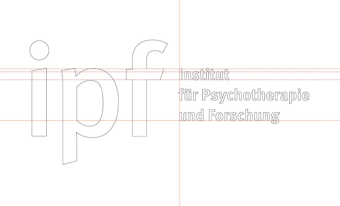 Projekt logotypu—linie pomocnicze