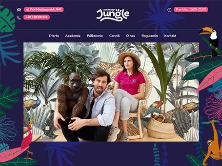 Jungle Academy—cover