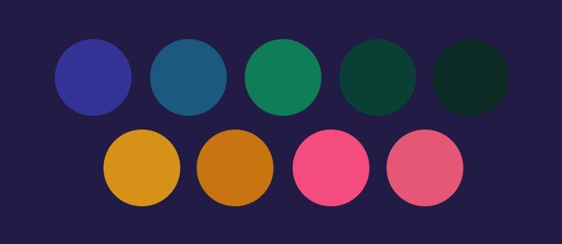 Paleta kolorystyczna